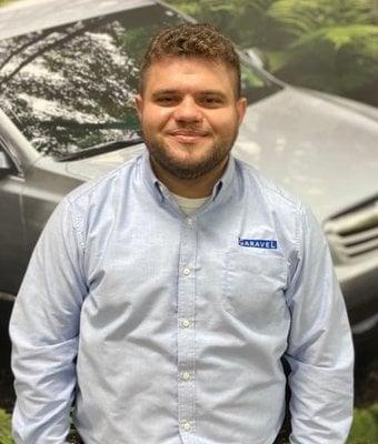 Service Advisor Conrad Jury in Service at Garavel Subaru