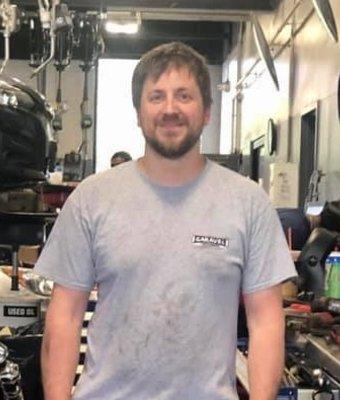 Team Leader Jeremy Buturla in Service at Garavel Subaru