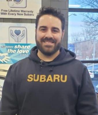 Assistant Parts Manager Joe Gurrieri in Parts at Garavel Subaru