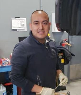 Technician Trinidad Sanchez in Service at Garavel Subaru