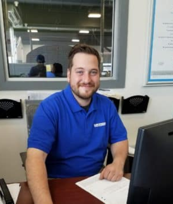 Assistant Service Manager Rich Morel in Service at Garavel Subaru