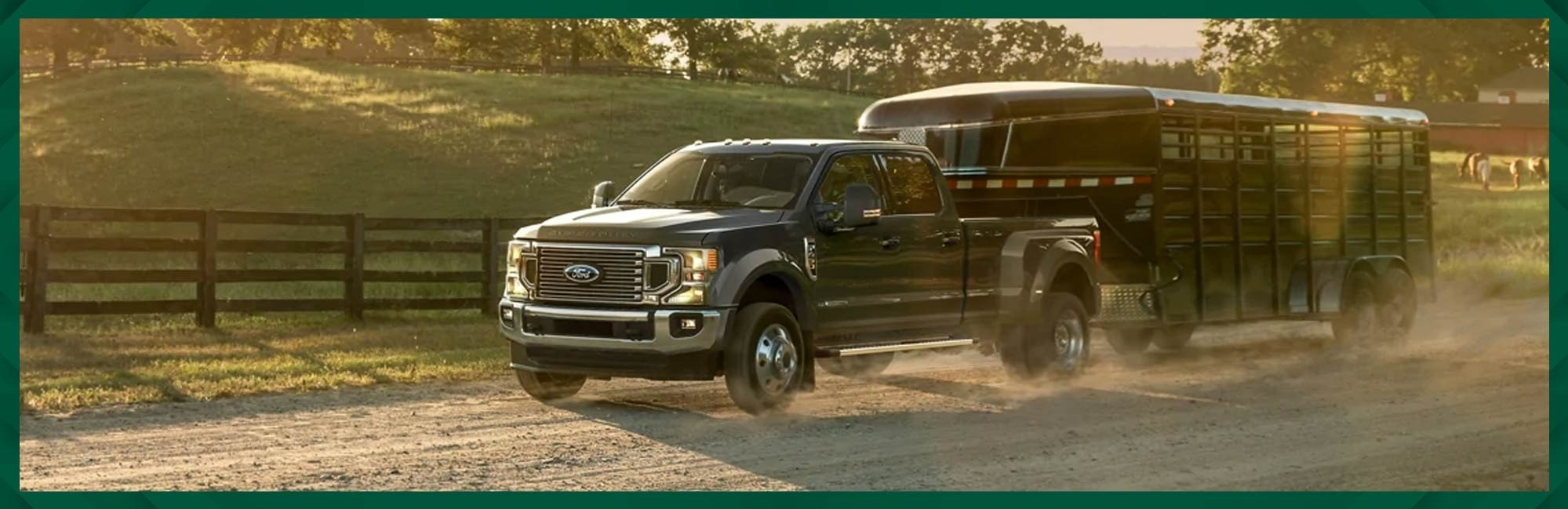 Ford Super Duty towing specs