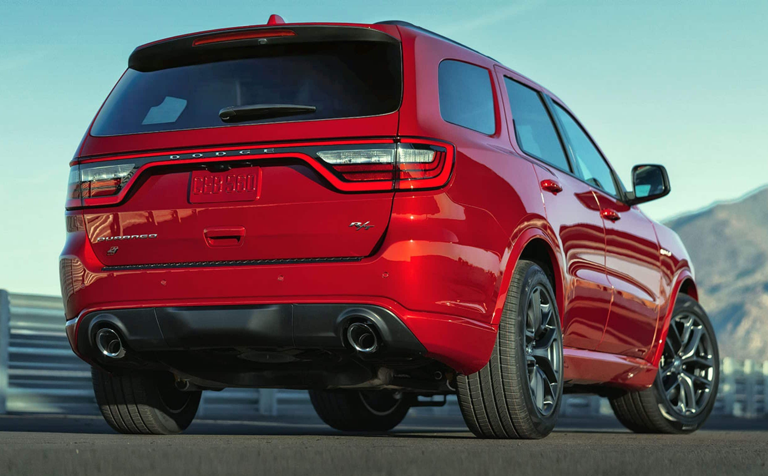 The new 2021 Dodge Durango rear