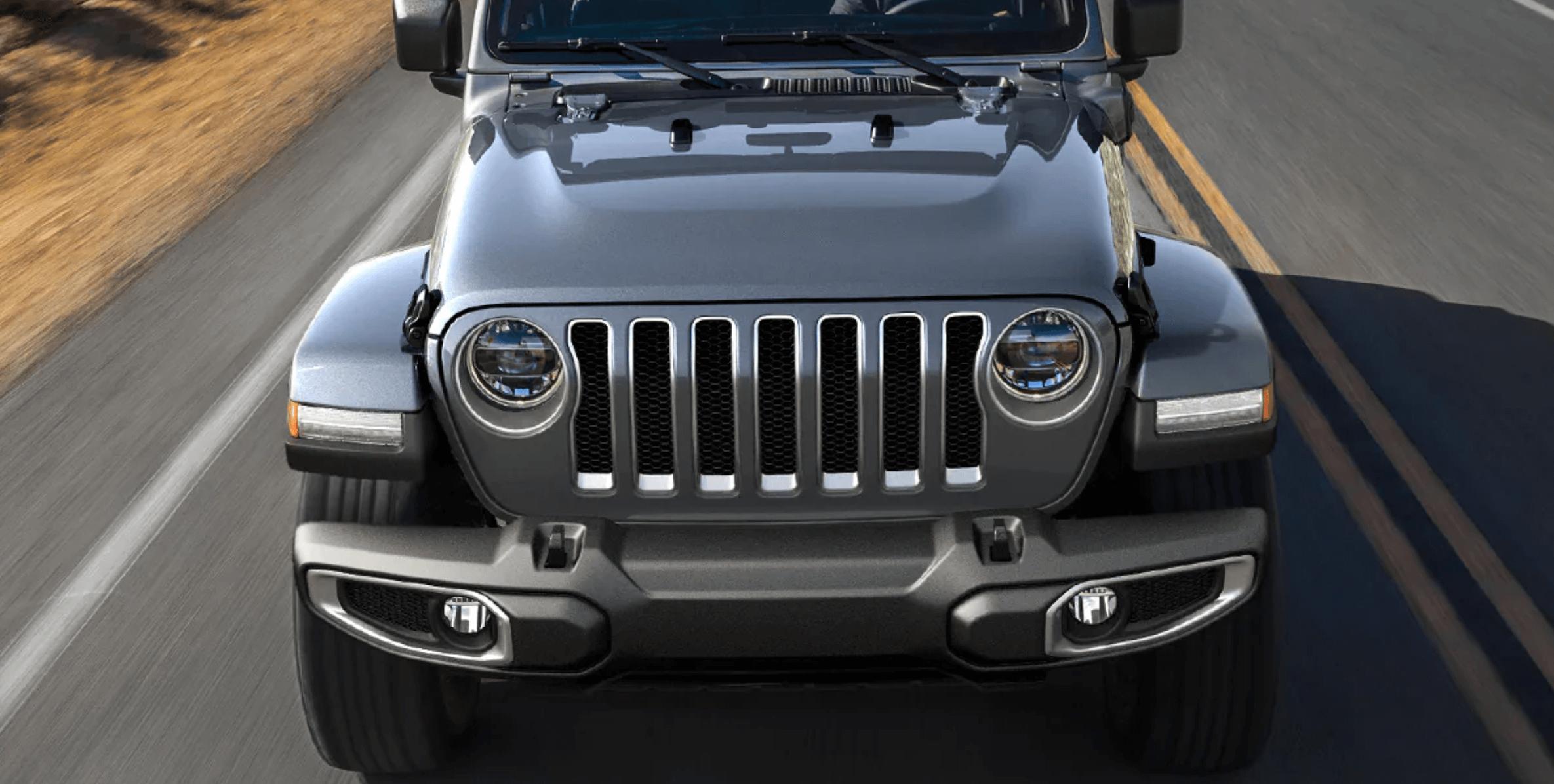 2021 Jeep Wrangler 4xe exterior