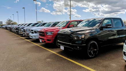 Eide Chrysler's new vehicles in Pine City.
