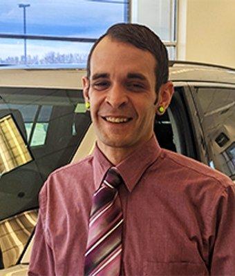 Sales Consultant Marcus Hibbard in Sales at Eide CDJR Pine City
