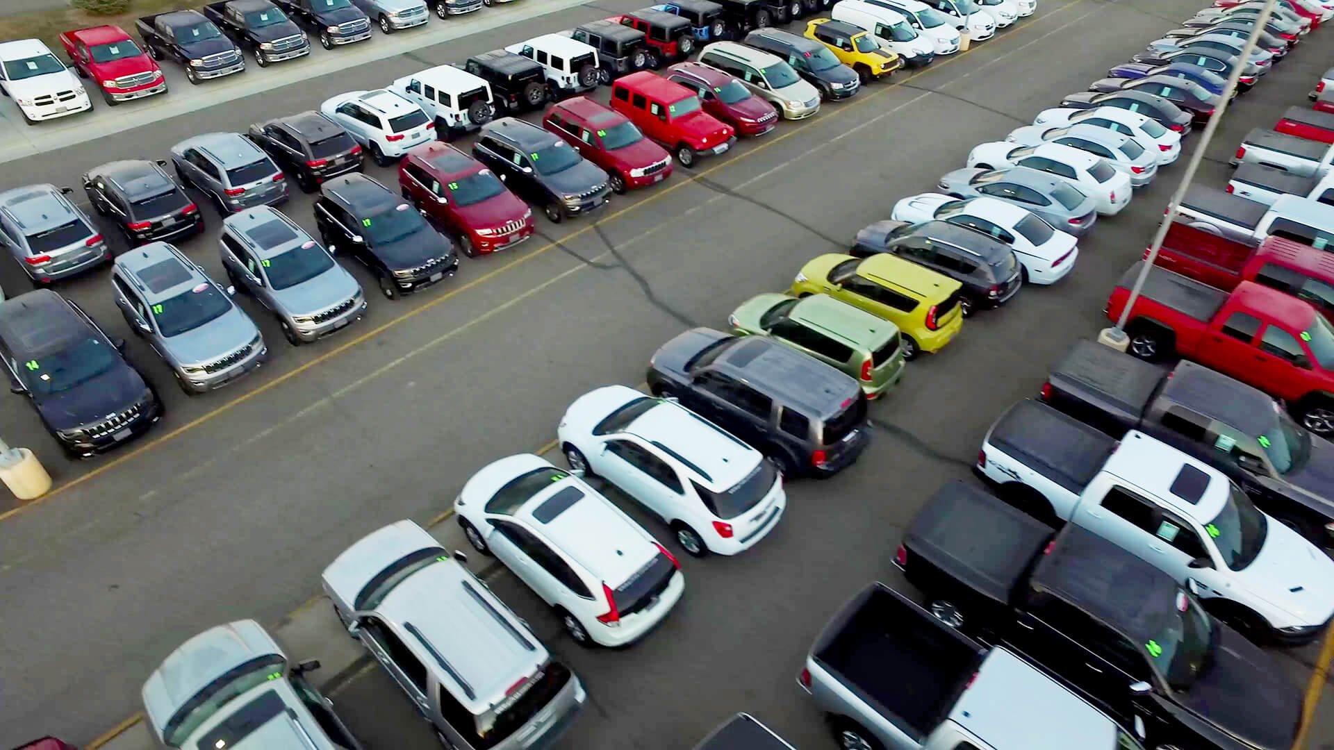 Used cars at Eide Chrysler in Bismarck