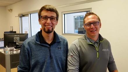 Eide's Latest Promotions to Justin Hutslar and Kyle Edwards.
