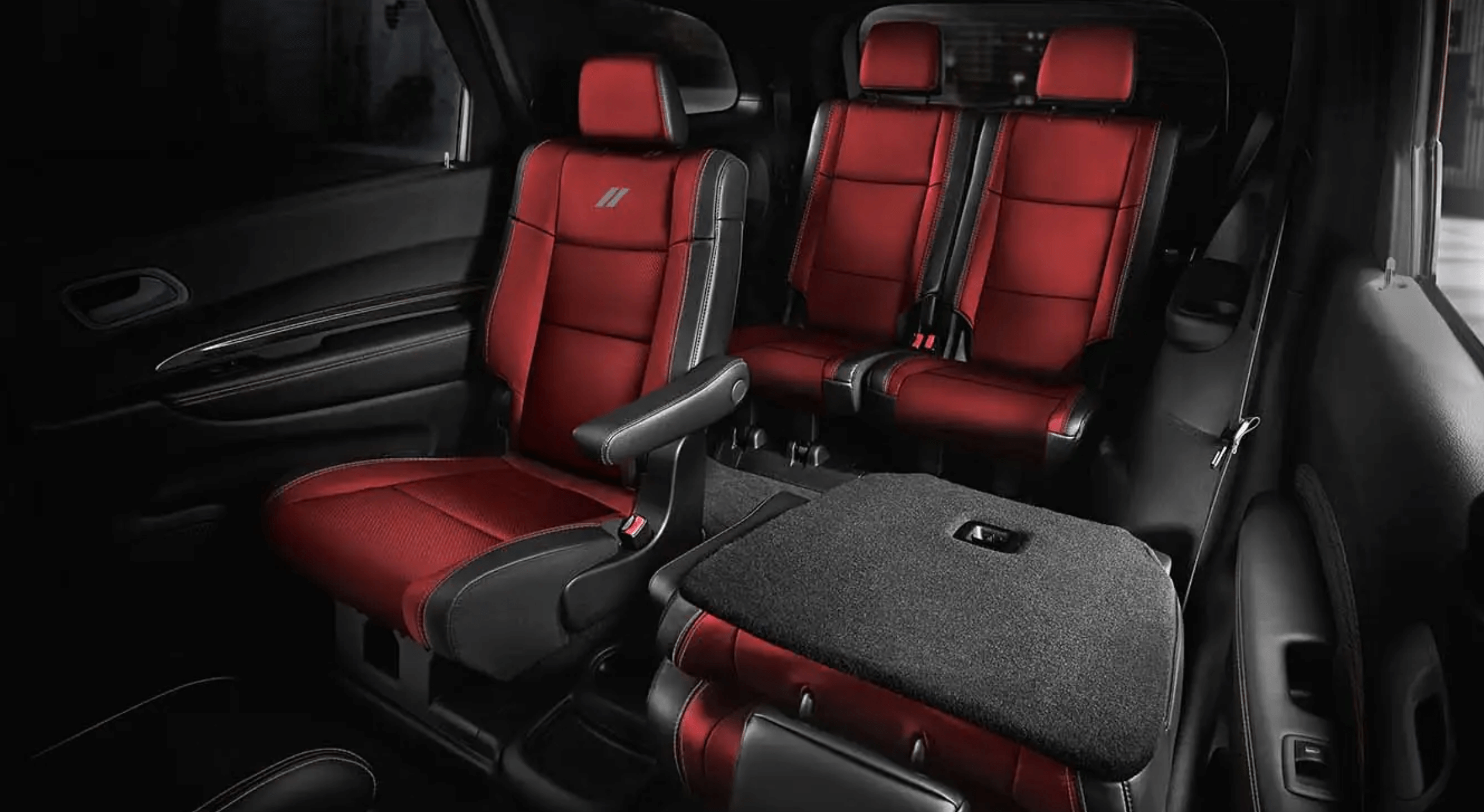 the inside of the new 2021 Dodge Durango