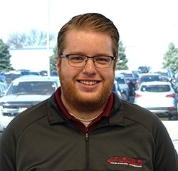Sales Consultant Nick Nelson in Sales at Eide Chrysler