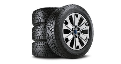 Buy four select tires, get a $100 rebate by mail or earn 40,000 FordPass™ Rewards bonus Points.**