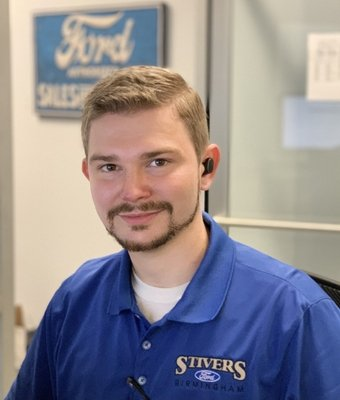 Service Advisor Mckenley McGuffie in Service at Stivers Ford of Birmingham