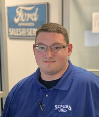 Service Advisor William Fortner in Service at Stivers Ford of Birmingham