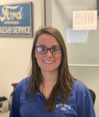 Service Advisor Jessica Reaves in Service at Stivers Ford of Birmingham