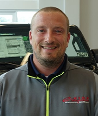 INTERNET SALES SPECIALIST Aaron Herseth in Sales at Eide CDJR Zumbrota