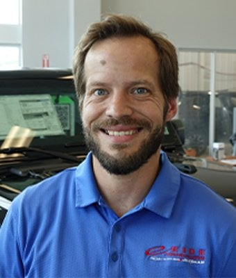 Finance Director Brody Beise in Sales at Eide CDJR Zumbrota