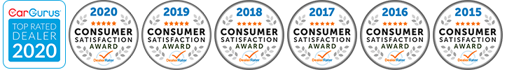 dealerrater customer satisfaction award winner