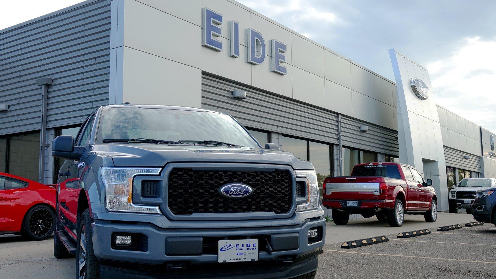 Eide Ford Lincoln dealership in Bismarck