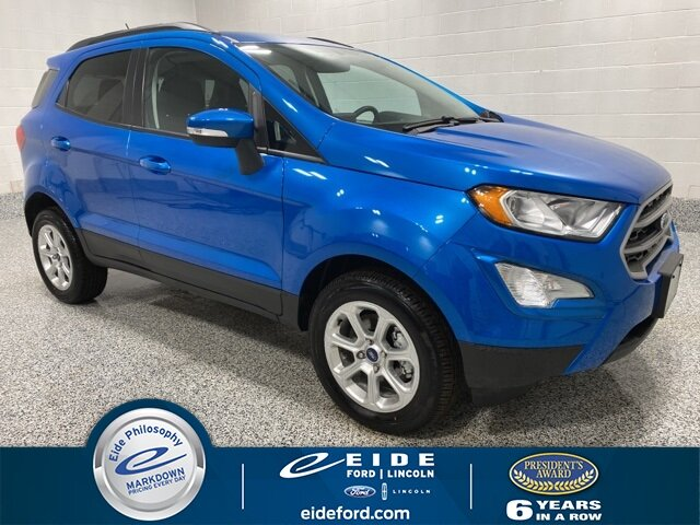 Lease this 2020, Blue, Ford, EcoSport, SE