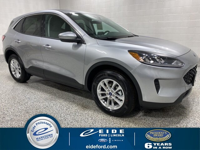 Lease this 2021, Silver, Ford, Escape, SE