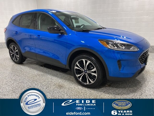 Lease this 2021, Blue, Ford, Escape, SE Sport