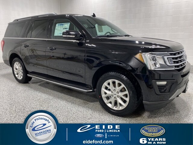 Lease this 2021, Black, Ford, Expedition Max, XLT