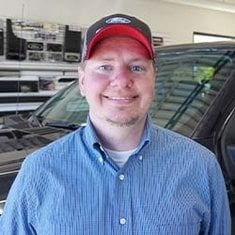 Sales Consultant Brandon Baker in Sales at Eide Ford Lincoln