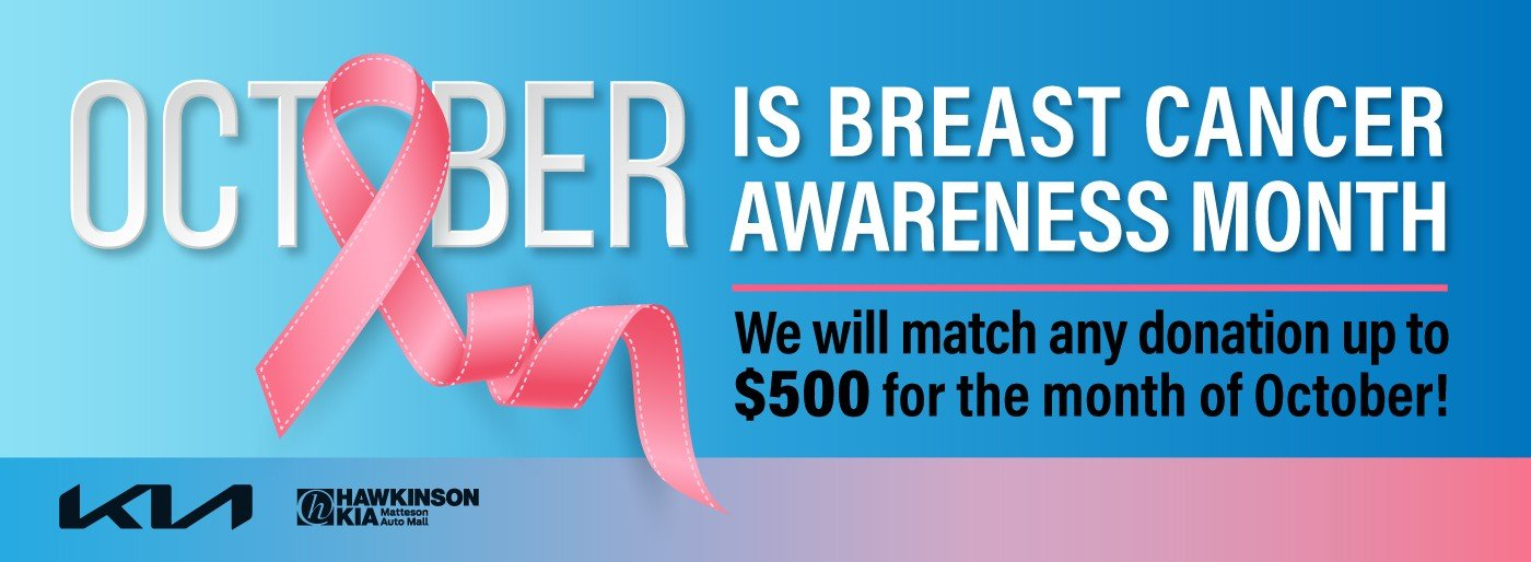 Special offer on 2021 Kia K5 Breast Cancer Awareness Month