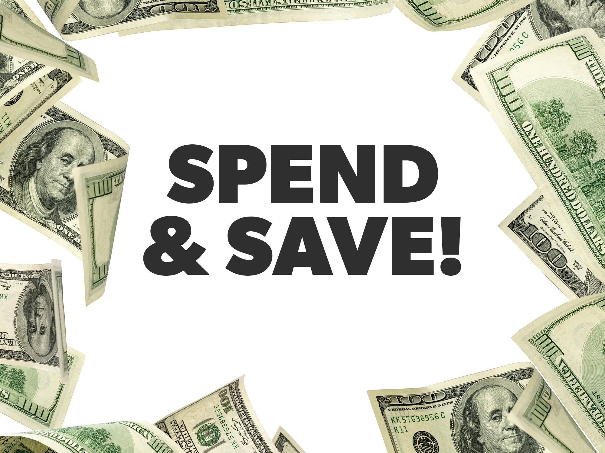 Coupon for SPEND & SAVE