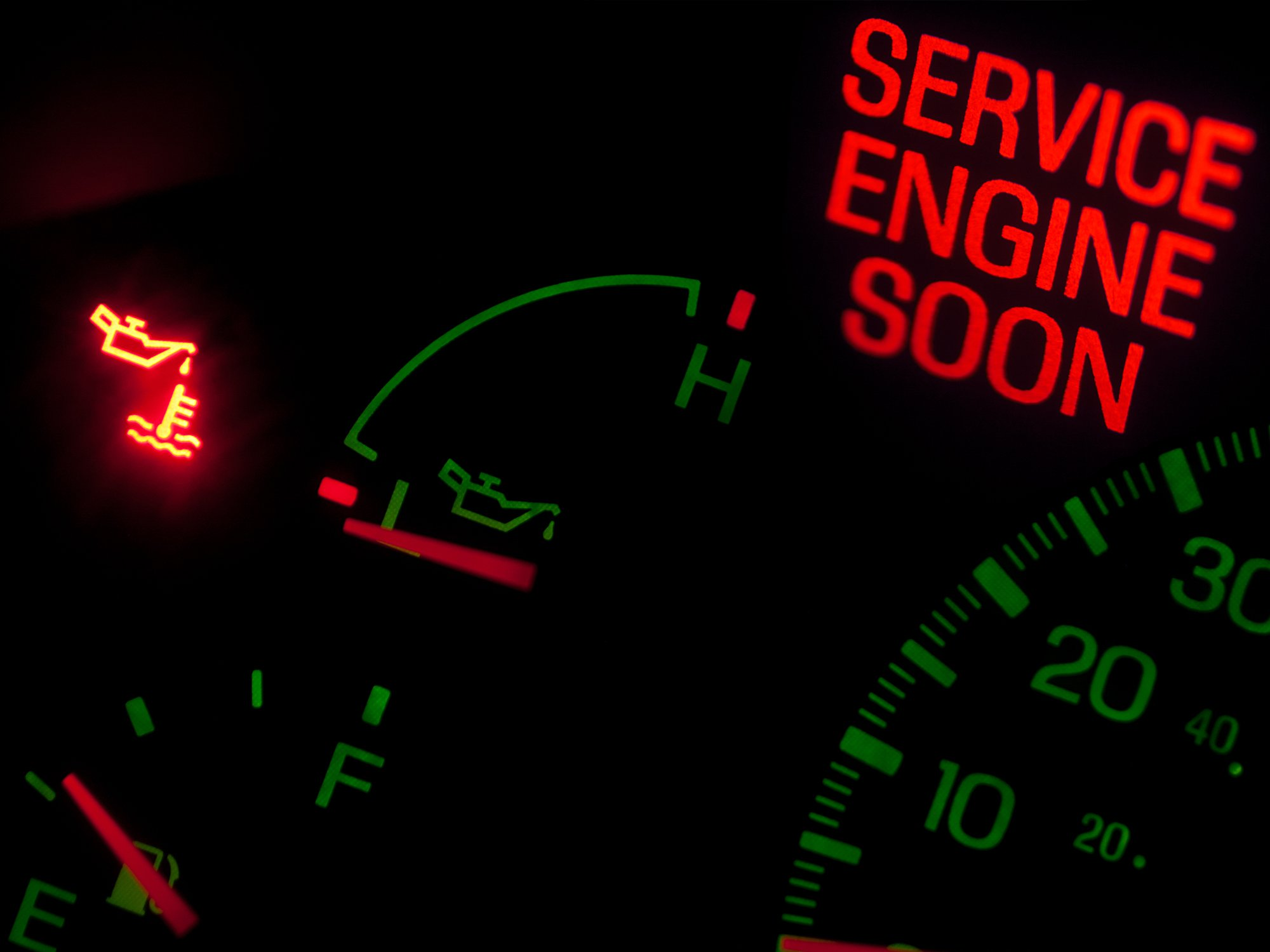 SERVICE ENGINE LIGHT DIAGNOSIS