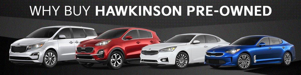 Why buy Hawkinson Pre-Owned?
