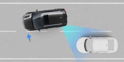 Blind-spot collision avoidance assist-rear