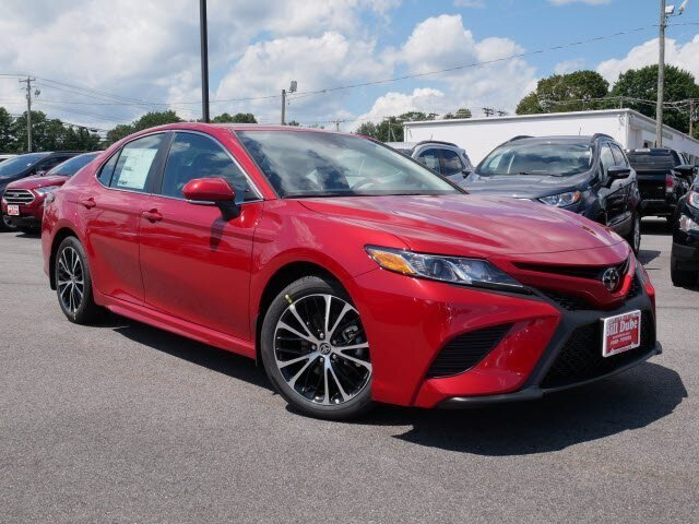 Lease this 2020, Red, Toyota, Camry, SE