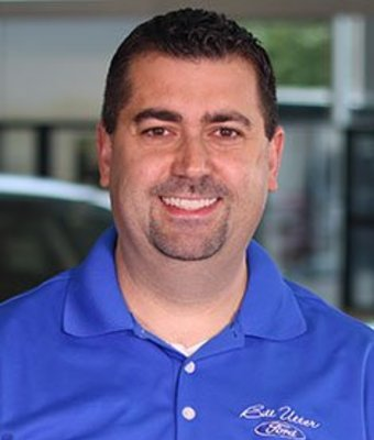 New Car Sales Manager Tom McGarvey in Sales at Bill Utter Ford