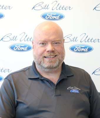 Parts Manager David Ahrens in Parts at Bill Utter Ford