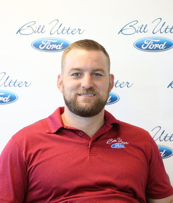 New Car Sales Manager Chase Baine in Sales at Bill Utter Ford