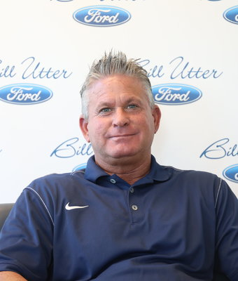 Finance Manager Mike Lewis in Finance at Bill Utter Ford