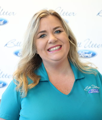 Parts Representative Tanya Pearman in Parts at Bill Utter Ford