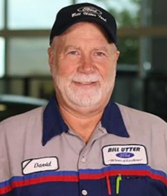Quality Control David Ostrom in Service at Bill Utter Ford