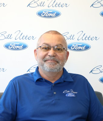Parts Manager Mark Johnson in Parts at Bill Utter Ford