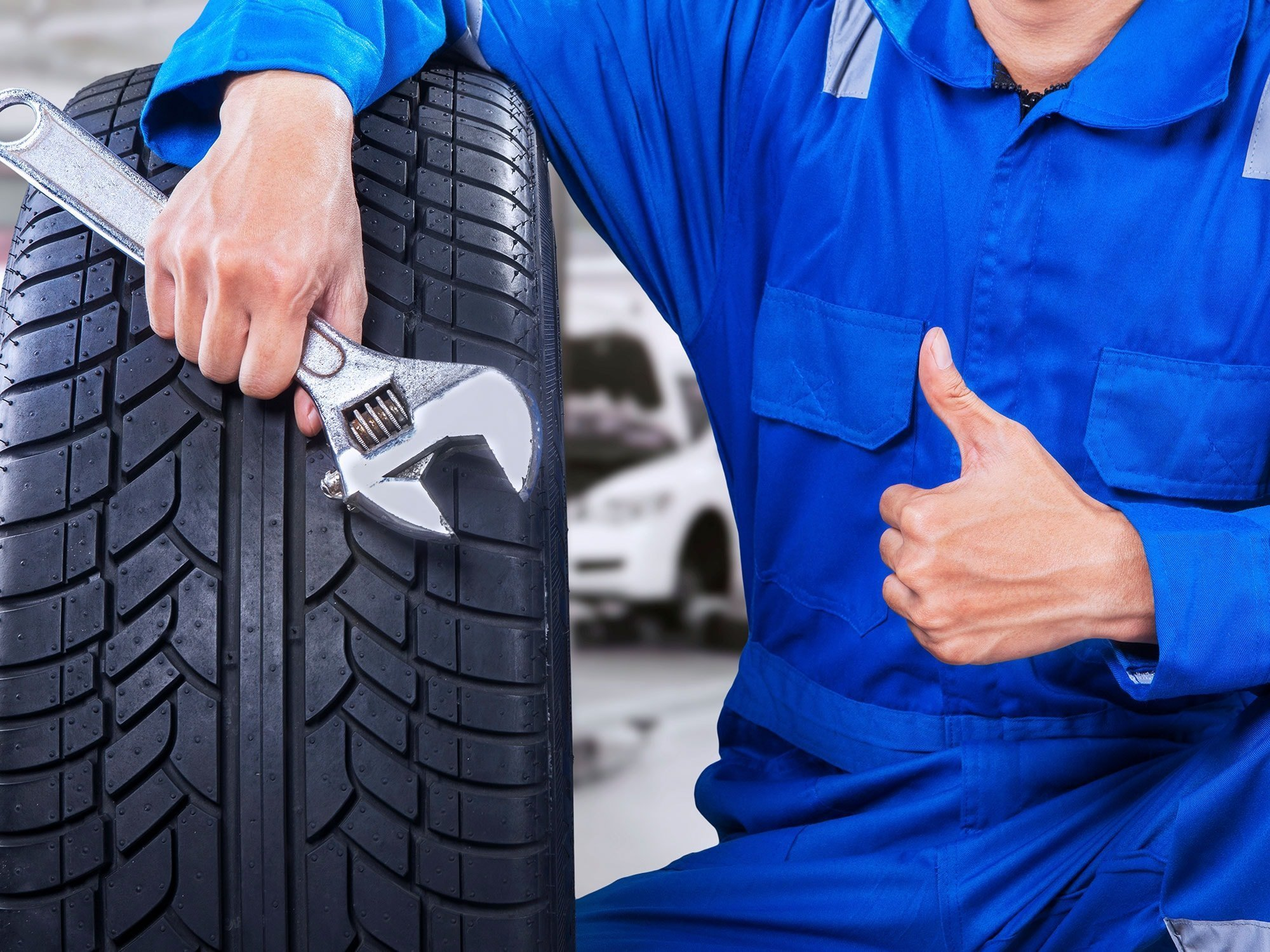 TIRE ROTATE AND BALANCE BRAKE INSPECTION