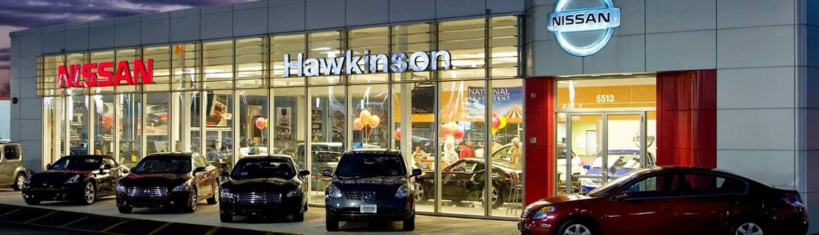 Recommended Uber/lyft at Hawkinson Nissan