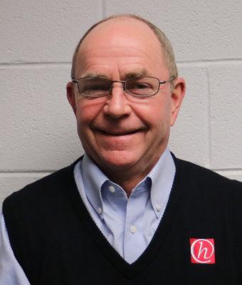 Service Director TJ Blough in Service at Hawkinson Nissan