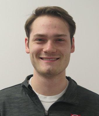 Finance Manager Ben Mueller in Finance at Hawkinson Nissan