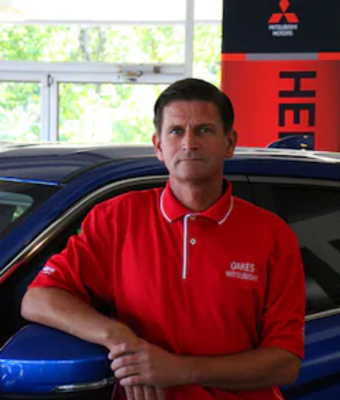 Sales Associate Brady Hames in Sales at Oakes Mitsubishi