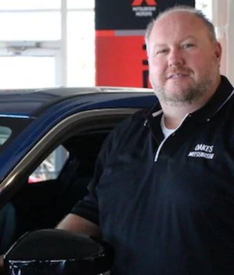Senior Buyer Bryan Hall in Office & Support Team at Oakes Mitsubishi