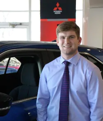 Finance Producer Hayden Walker in Finance at Oakes Mitsubishi