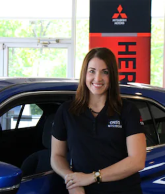 Marketing Director Morgan Oakes in Office & Support Team at Oakes Mitsubishi