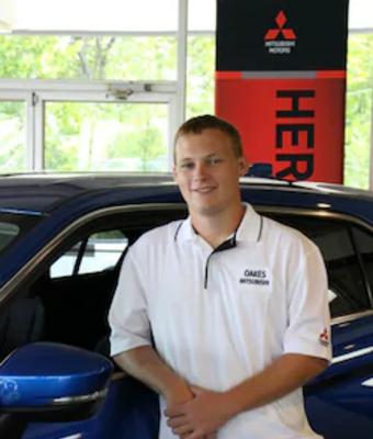 Sales Associate Patrick Krisman in Sales at Oakes Mitsubishi