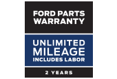 Coupon for FORD PARTS WARRANTY: TWO YEARS. UNLIMITED MILEAGE. INCLUDES LABOR.*